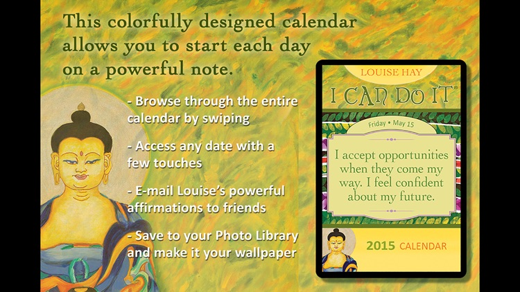 I Can Do It 2015 Calendar - Louise Hay