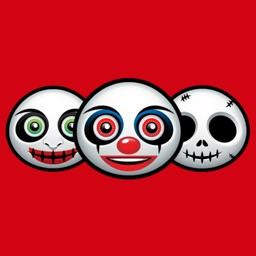 Zombie Emoji Stickers for Halloween
