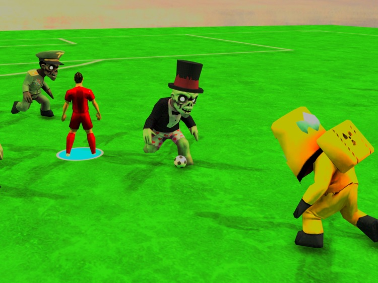 Zombie Soccer Stars! HD Lite screenshot-3