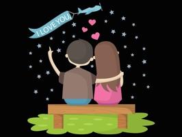 Love Sticker Messanger