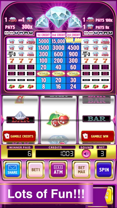 Double Deluxe Diamond Slots Pro Edition Screenshot