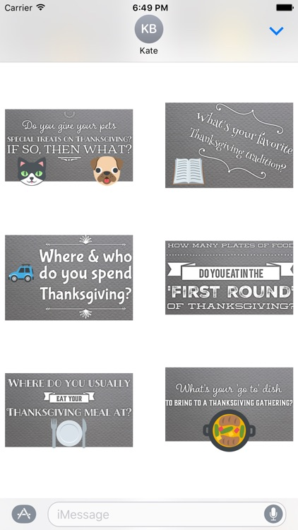 GladLibs: Thanksgiving Prompts screenshot-4