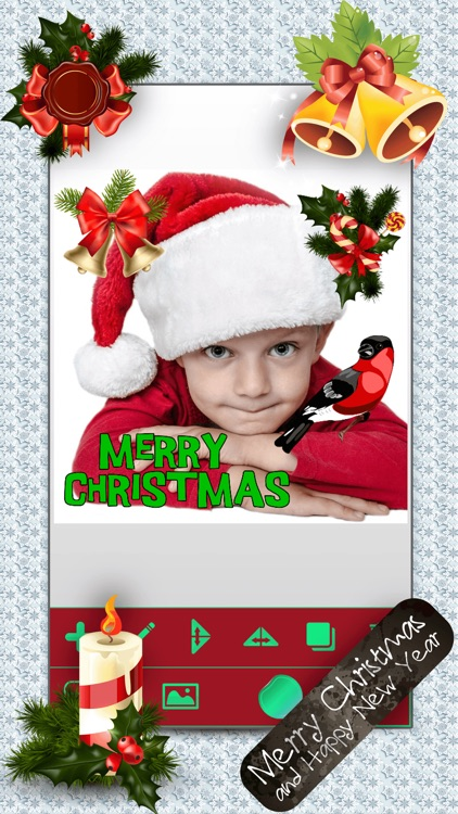 Christmas Photo Booth: Xmas Sticker Picture Editor screenshot-4