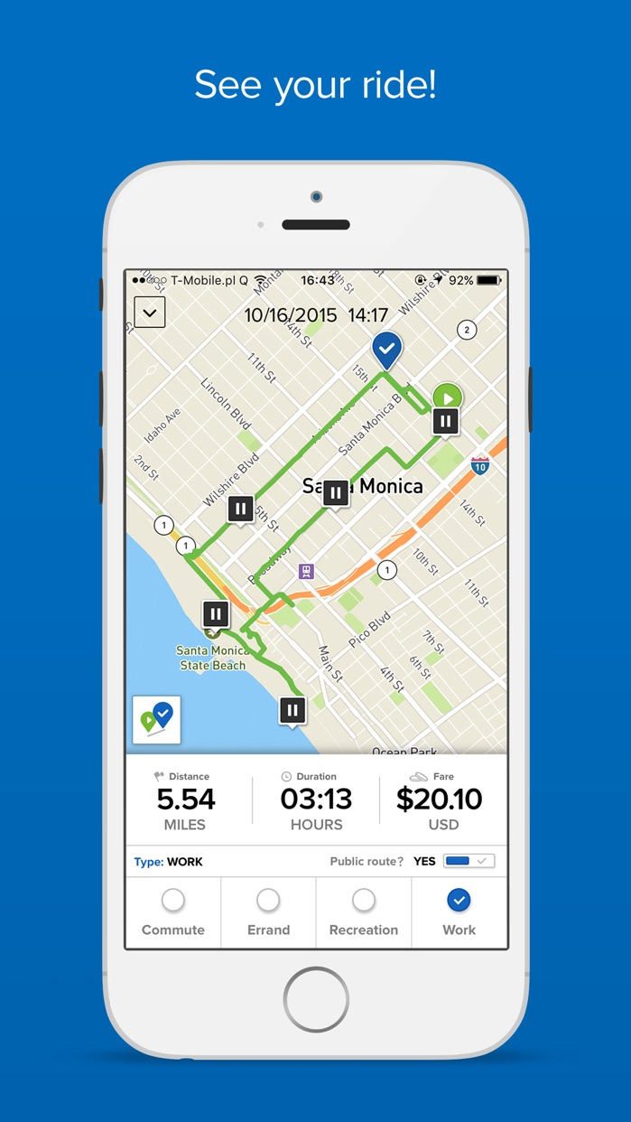 Social Bicycles Screenshot