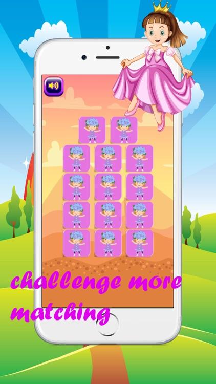 princess matching games for kids screenshot-4