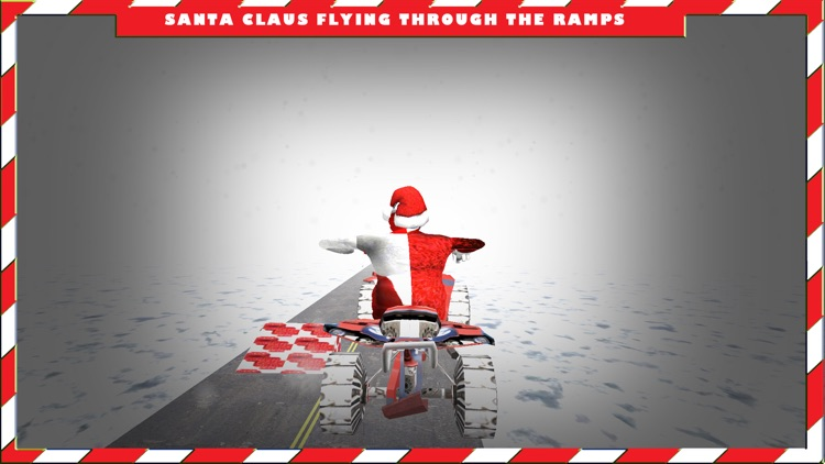 Santa Claus in North Pole on Quad bike Simulator screenshot-4