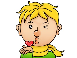 小王子动态表情贴纸 The Little Prince Stickers