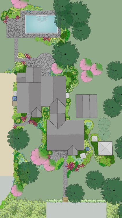 Home outside landscape design for everyone by julie moir for Home landscape design app