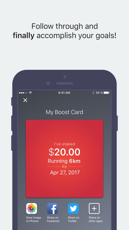 Boost — Follow Through & Accomplish Your Goals screenshot-4