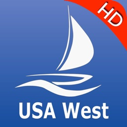 USA West GPS Nautical charts pro