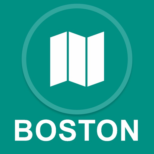 Boston, MA : Offline GPS Navigation