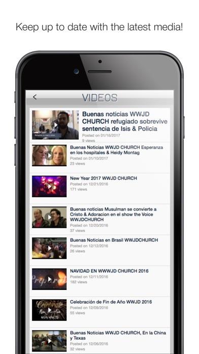 Screenshot #6 for WWJD Church