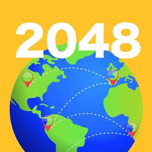 2048 Global Challenge - Powers of 2, 3 & Fibonacci iOS App