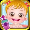 可爱榛果宝贝爱洗澡
