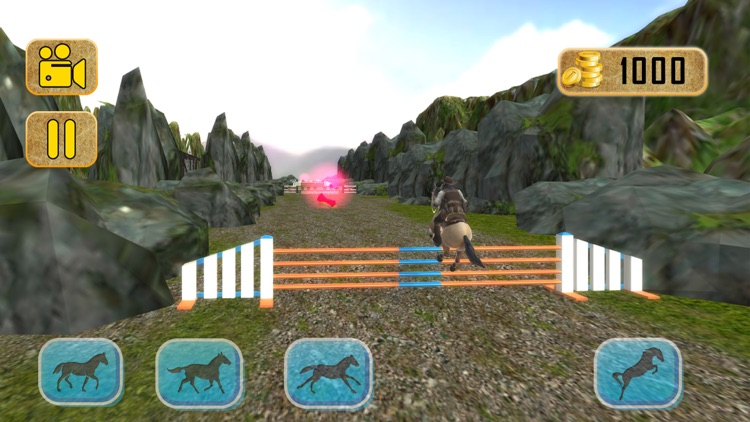 Horse Forest Riding simulator - pro screenshot-3
