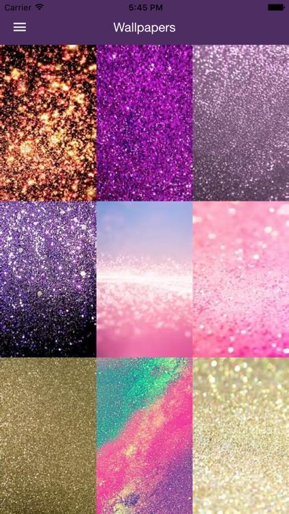 Glitter Wallpapers | Sparkle & Glitter Background