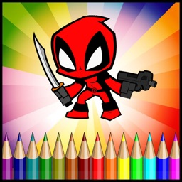 Coloring Superhero Game For Fun