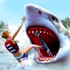 White Shark Simulator Games: Blue Whale Attack