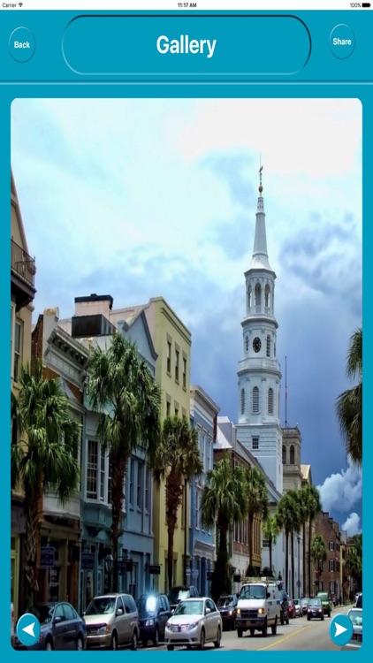 Charleston SC USA City OfflineMap Navigation EGATE screenshot-4