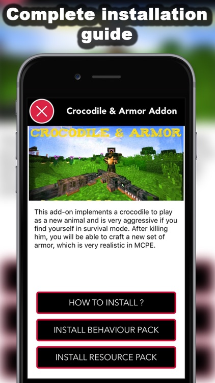 Crazy AddOns for Minecraft PE