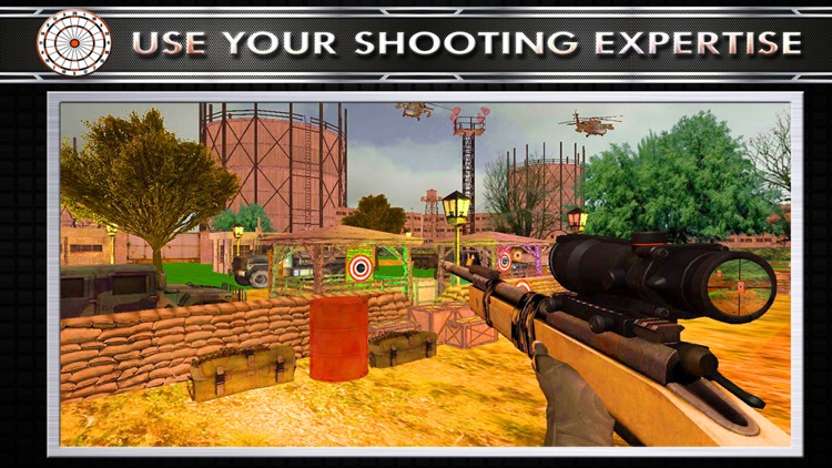 Military Target Shooting Simulator screenshot-2