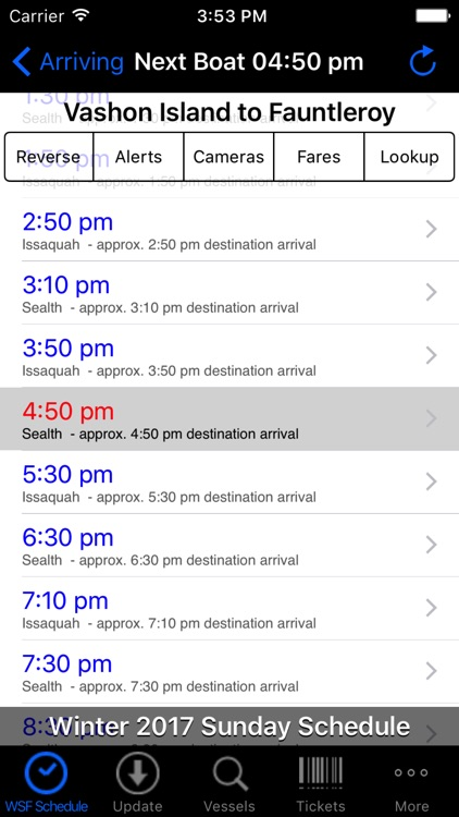WSF Puget Sound Ferry Schedule screenshot-1