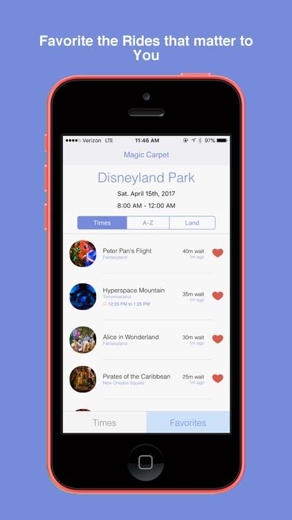 Magic Carpet for Disneyland