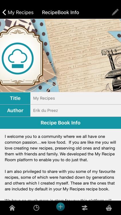 My Recipe Room screenshot-3