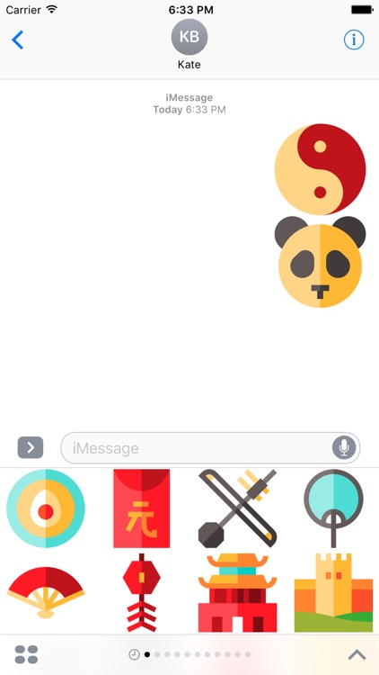 China Stickers -New Emoji for Texting in iMessage