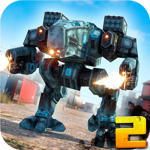 Steel Robots 2 . War Robot Fighting Game vs Tanks