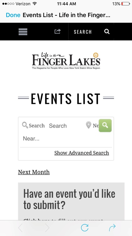 Life in the Finger Lakes Mag