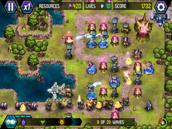 Tower Defense: Infinite War для iPad