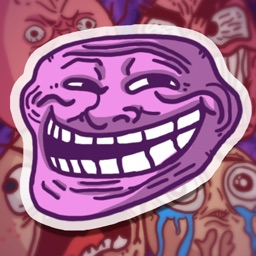 Trollface Animated Stickers