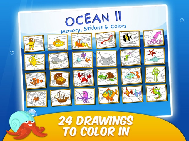 Toddler & Kids Learning Games Age 3+ Free: Ocean 2 on the