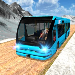 Offroad Bus Driving Simulator Winter Season