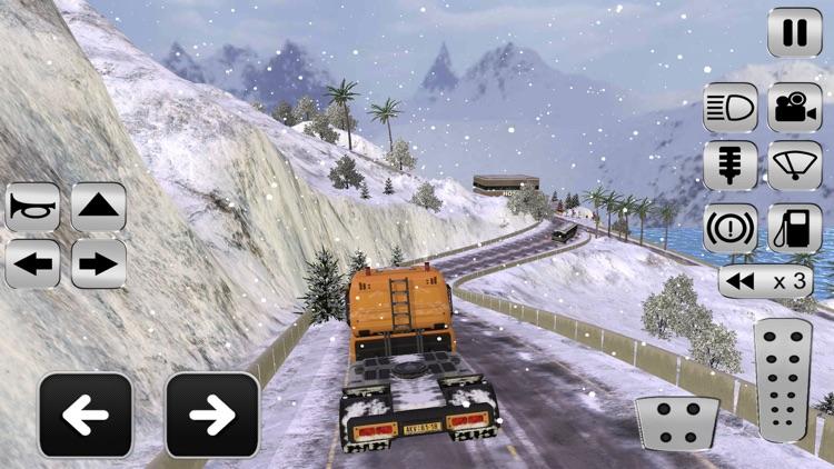 Grand Snow Truck Simulator : Cargo Truck Driver 3D screenshot-4
