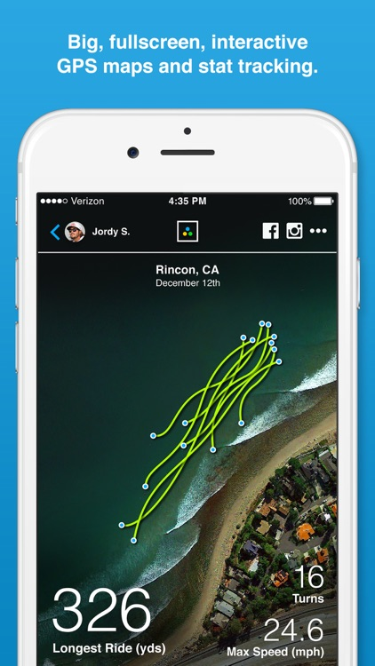 Trace Surf - Track your surfing