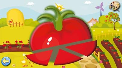 果物や野菜: 子供のためのゲーム 赤ちゃん - 無料 - 教育ののおすすめ画像2