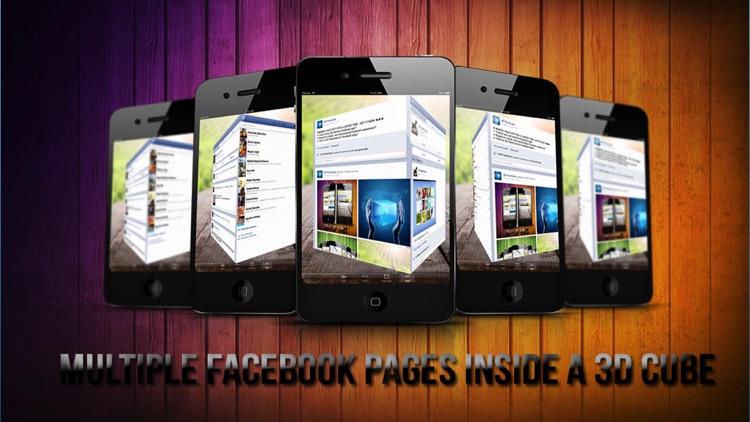 3D FaceCube for Facebook