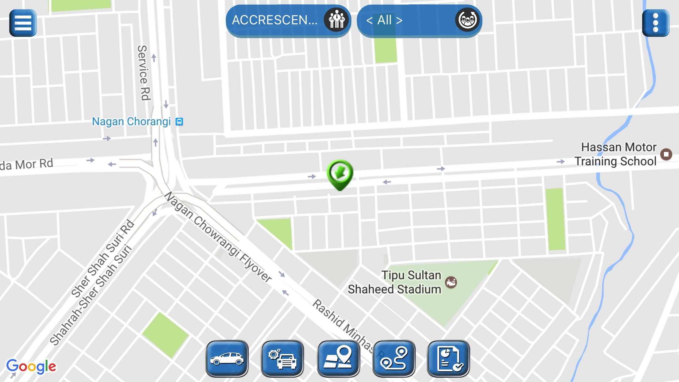 Teltonika Tab App Screenshot