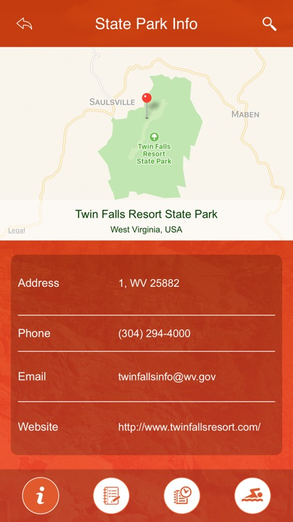 West Virginia State Parks & Trails screenshot-3
