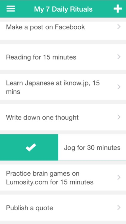 Being Beethoven-simple habits, daily goals tracker