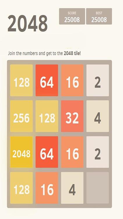 2048 : Best game brain training