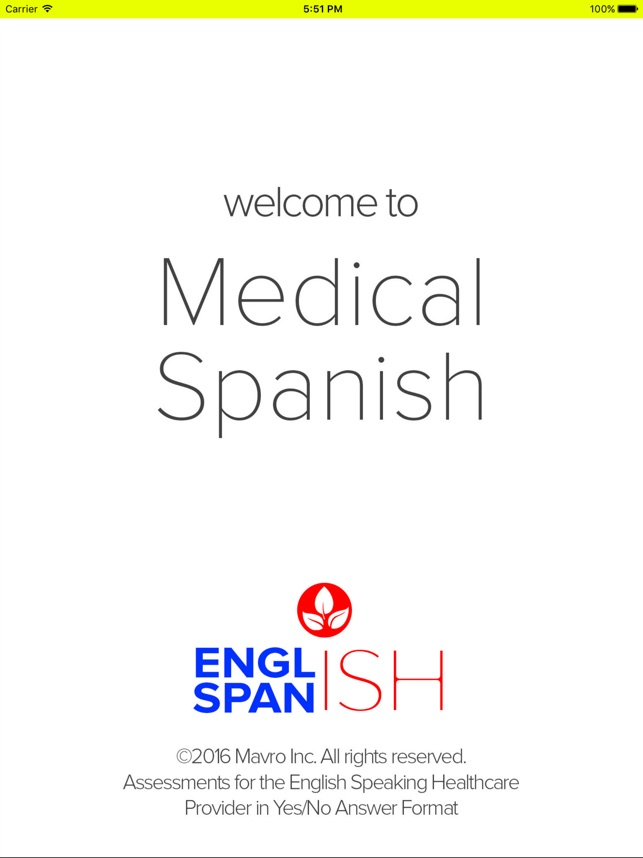 AUDIO- Medical Spanish on the App Store