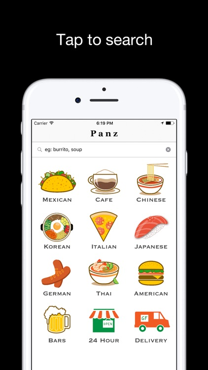 Panz - Find GOOD restaurants near you