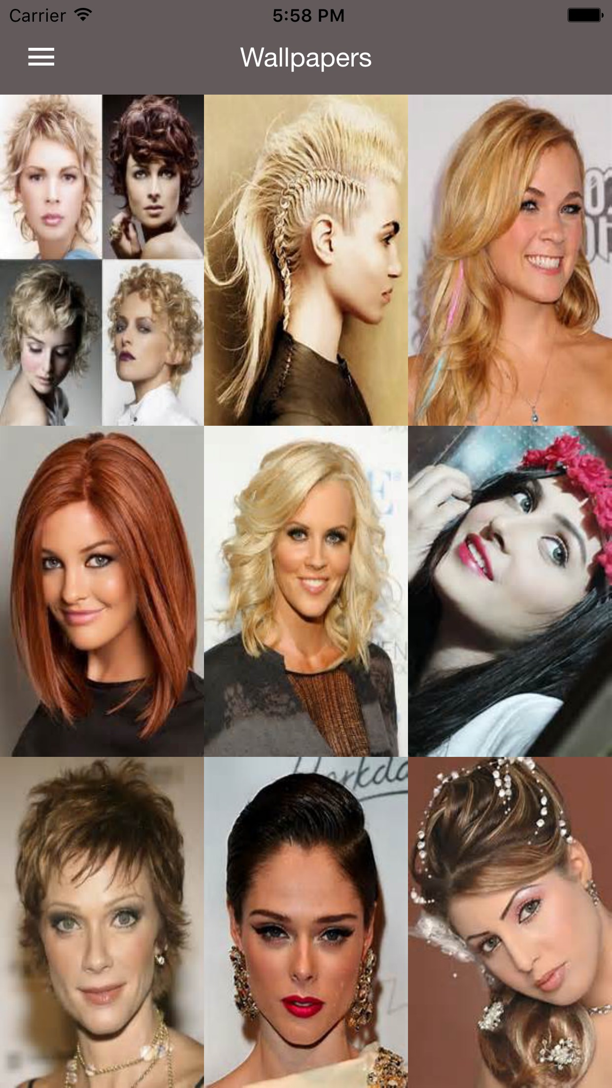 Hairstyle for Women - Haircuts & Hairstyles Ideas Screenshot
