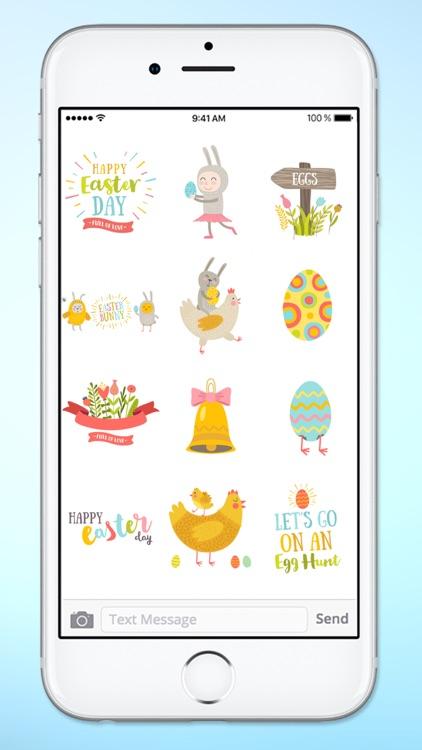 Super Cute Easter Sticker Pack screenshot-4