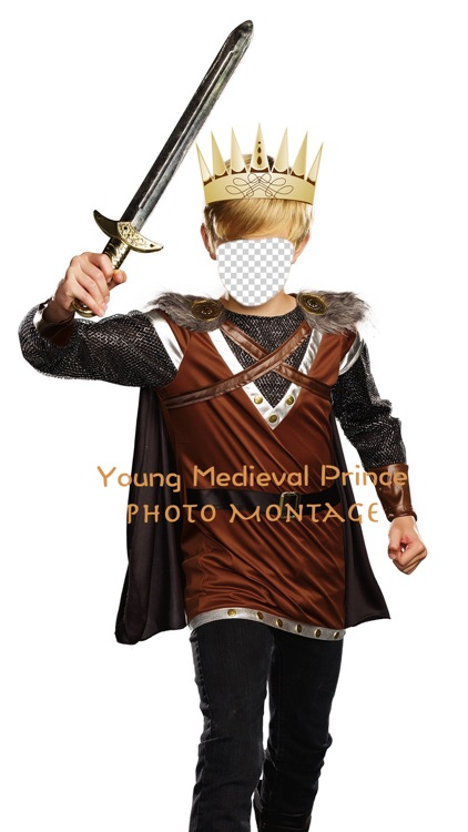 Young Medieval Prince Photo Montage screenshot-3