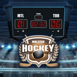 Mini Stick Hockey Scoreboard