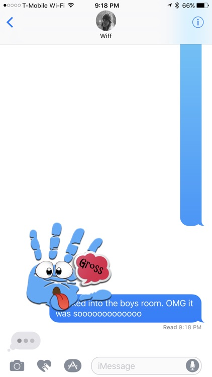 Talk to the Hand Stickers screenshot-3